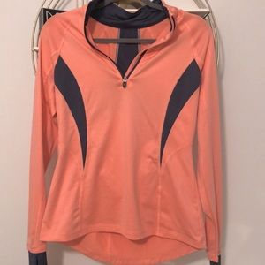 DryTech Salmon Athletic Pullover